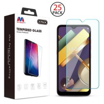 MYBAT Tempered Glass Screen Protector for LG K22 (25 Pack)