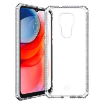 ITSKINS Clear Spectrum Case for Motorola Moto G Play (2021) (Clear)