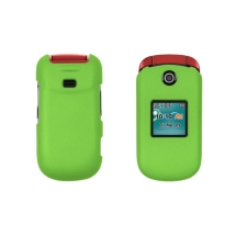 Rubberized Shield for Samsung R270 Chrono 2 (Lime Green) (Closeout)