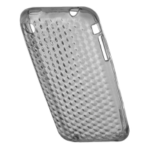 Candy Skin Case for Apple iPhone 3G, 3GS (Small Diamonds Clear) (Closeout)