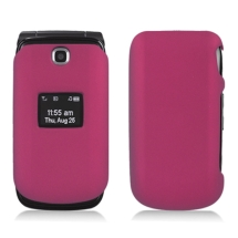 Rubberized Hybrid Case for LG Envoy 2 (Rose Pink) (Closeout)
