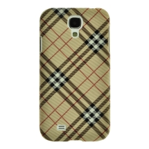 Shield for Samsung Galaxy S4 (Plaid Tan) (Closeout)