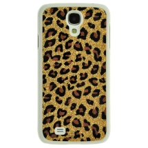 Shield for Samsung Galaxy S4 (Gold Glitter Leopard) (Closeout)