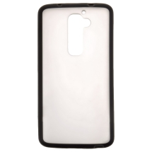 Gummy Cover for LG VS980 Optimus G2 (Black) (Closeout)