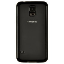 Gummy Cover for Samsung Galaxy S5 (Black) (Closeout)