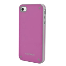 PureGear Slim Shell Case for Apple iPhone 4 & 4S (Raspberry) (Closeout)