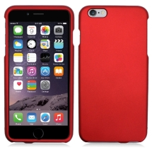 Rubberized Shield for Apple iPhone 6 Plus & 6S Plus (Red) (Closeout)