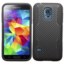 Hybrid Mesh Case for Samsung Galaxy S5 Mini (Black) (Closeout)