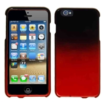 Hard Shield Case for Apple iPhone 6 Plus & 6S Plus (Black & Red Fade) (Closeout)