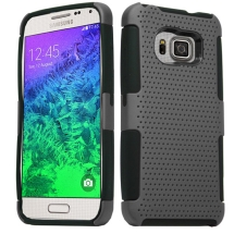 Hybrid Mesh Case for Samsung Galaxy S6 (Gray & Black) (Closeout)