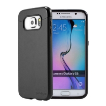 Prodigee Accent Case for Samsung Galaxy S6 (Black on Black) (Closeout)