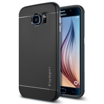 Spigen Neo Hybrid Case for Samsung Galaxy S6 (Metal Slate) (Closeout)