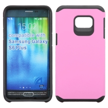 Asmyna Advanced Armor Case for Samsung Galaxy S6 Edge+ (Pink & Black) (Closeout)