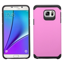 Asmyna Advanced Armor Case for Samsung Galaxy Note 5 (Pink & Black) (Closeout)