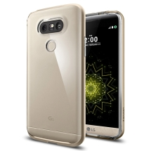 Spigen Neo Hybrid Crystal Case for LG G5 (Champagne Gold) (Closeout)