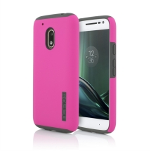Incipio DualPro Case for Motorola Moto G Play (Pink & Charcoal) (Closeout)