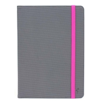 "M-Edge Universal Folio Plus Case for 9""-10"" Tablets (Gray & Pink)"