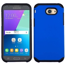 Asmyna Advanced Armor Case for Samsung Galaxy J3 (2017) (Blue & Black) (Closeout)