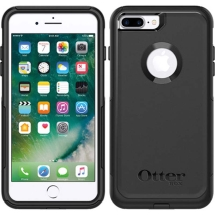 OtterBox Commuter Case for Apple iPhone 7 Plus & 8 Plus (Black)