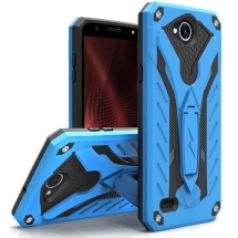 Zizo Static Hybrid Case for LG X Power 2 (Blue & Black) (Closeout)