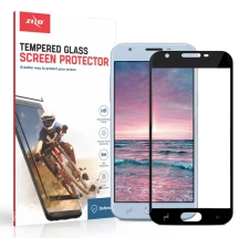 Zizo Tempered Glass Screen Protector for Samsung Galaxy J3 (2018) (Black)