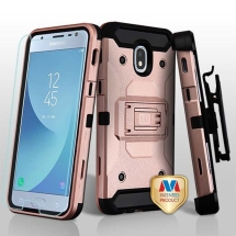 MYBAT Kinetic Case for Samsung Galaxy J3 (2018) (Rose Gold & Black) (Closeout)