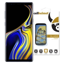 Cellhelmet 3D Tempered Glass Screen Protector for Samsung Galaxy Note 9 (Black)