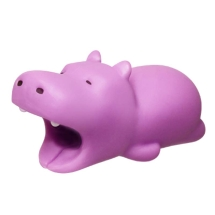 Cable Bite Cable Protector (Purple Hippopotamus)