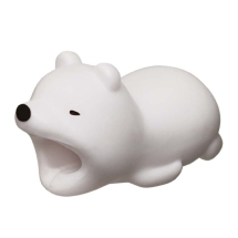 Cable Bite Cable Protector (Polar Bear) (Closeout)