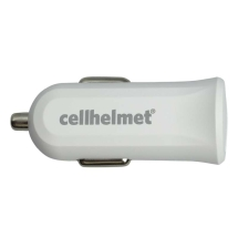 Cellhelmet 2.4 Amp USB Car Charger (White)