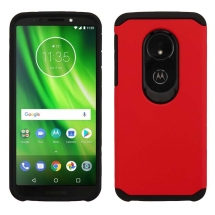 Asmyna Advanced Armor Case Motorola Moto G6 Play (Red & Black) (Closeout)