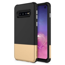 Zizo Division Case for Samsung Galaxy S10 (Black & Gold) (Closeout)