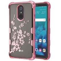 MYBAT Klarion Cover Case for LG Stylo 4 (Spring Flowers & Rose Gold) (Closeout)