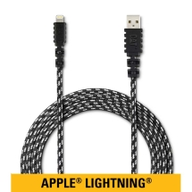 CAT Mobile 6ft Braided Nylon Lightning Charge & Sync Cable