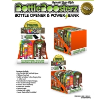 Bottle Boosterz Bottle Opener & Power Bank Retail Set with Display