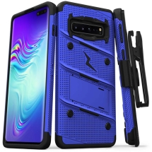 Zizo Bolt Case with Stand for Samsung Galaxy S10 5G (Blue & Black) (Closeout)