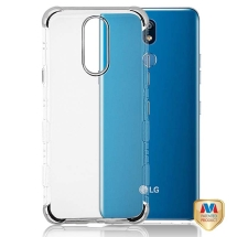MYBAT Klarity Lux Candy Skin Case for LG K40 (Silver) (Closeout)