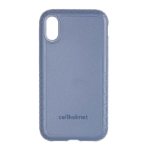 Cellhelmet Fortitude Case for Apple iPhone X & XS (Slate Blue)