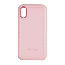 Cellhelmet Fortitude Case for Apple iPhone XR (Pink Magnolia)