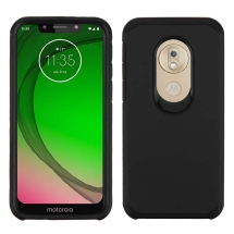 Asmyna Advanced Armor Case for Motorola Moto G7 Play (Black)