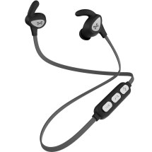 Ghostek Rush Wireless Sport Earbuds (Black & Silver)
