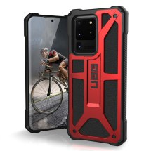 UAG Monarch Case for Samsung Galaxy S20 Ultra (Crimson & Black) (Closeout)